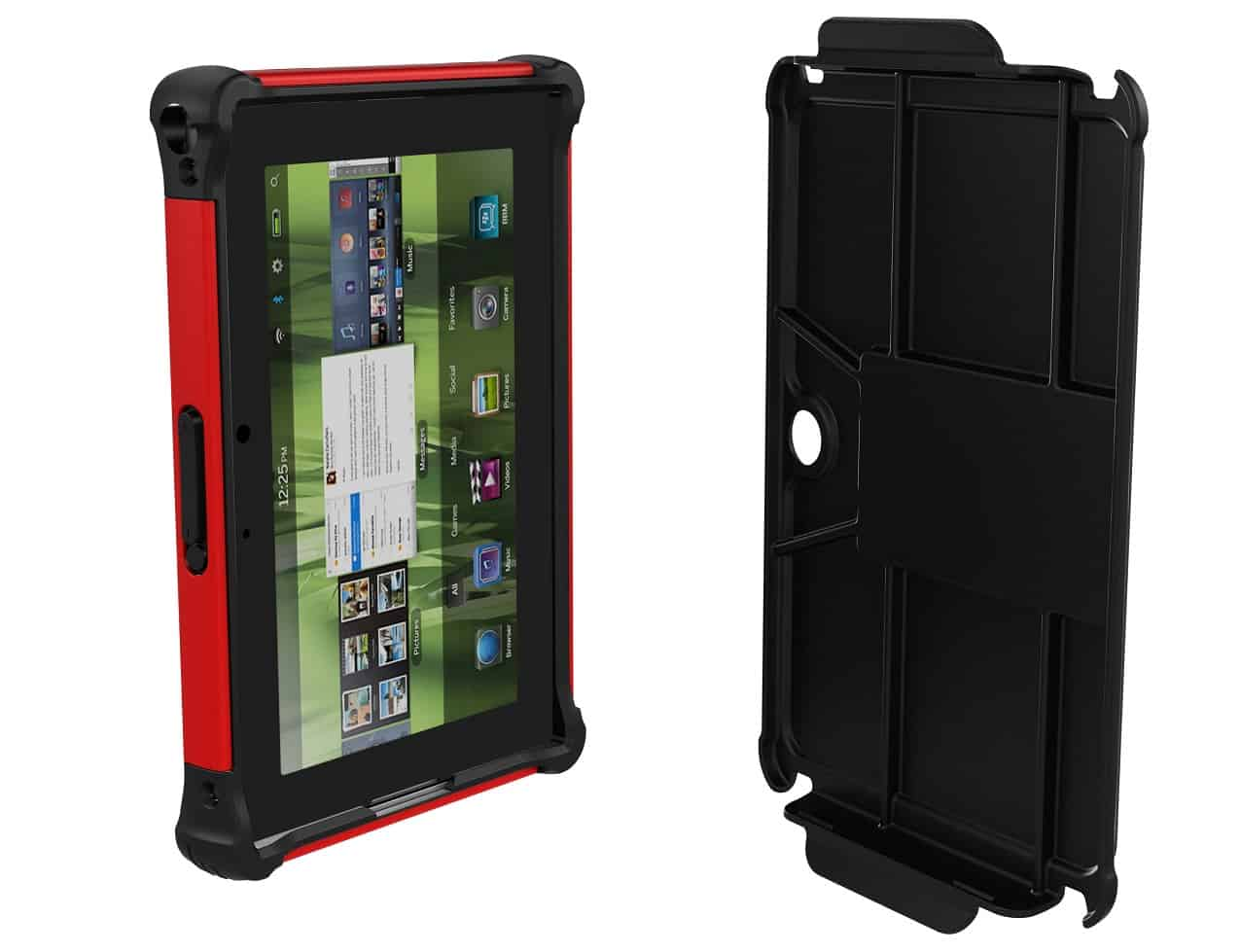 Case Design lv cell phone case : Ballistic-BlackBerry-Playbook-Tablet-Cases - GeekExtreme