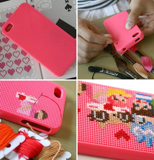 Neostitch-iPhone-Case