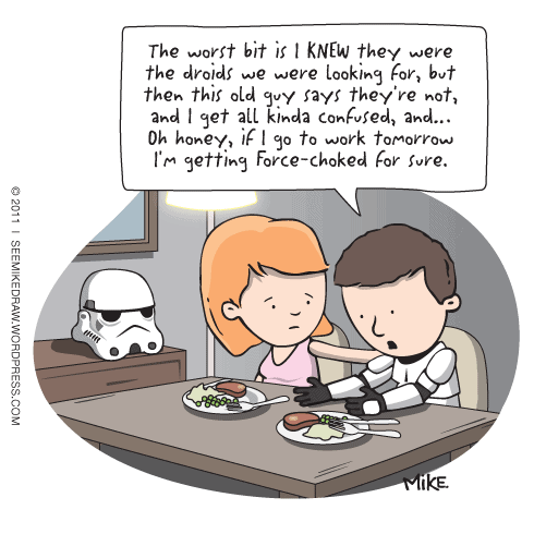 Funny Star Wars comics