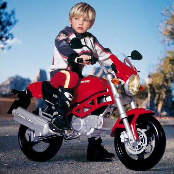 Ducati Monster Baby Toy