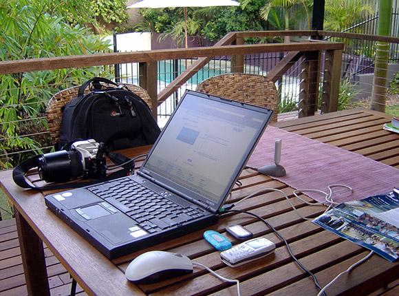 backyard office space