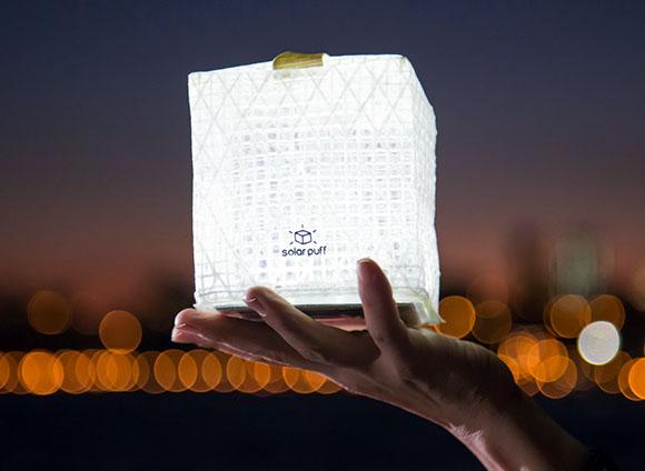 Post image for SolarPuff: A Unique Solar Lantern
