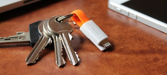 Post image for inCharge Bolt — The Smallest Portable USB Charging Cable