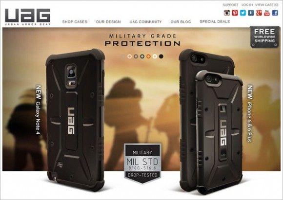 Post image for Urban Armor Gear Case