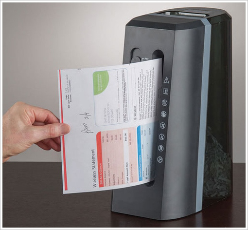 Post image for Vertical Paper Shredder