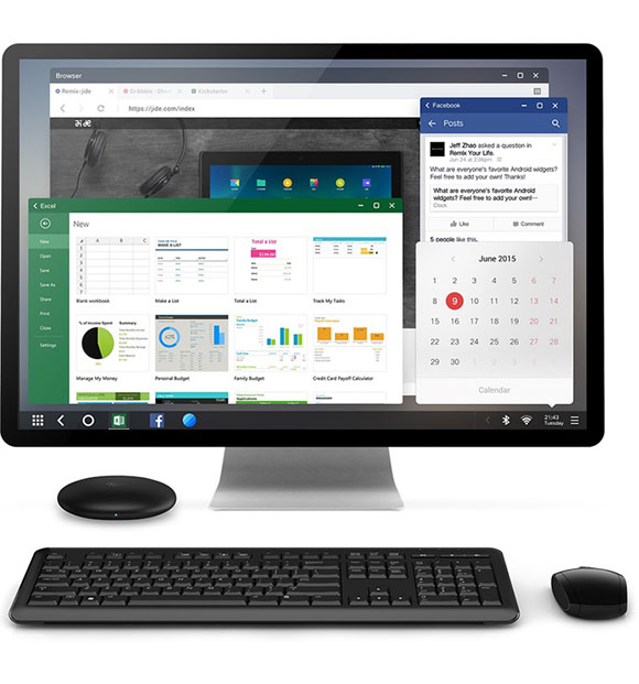 Post image for Remix Mini – An Extremely Tiny Android PC