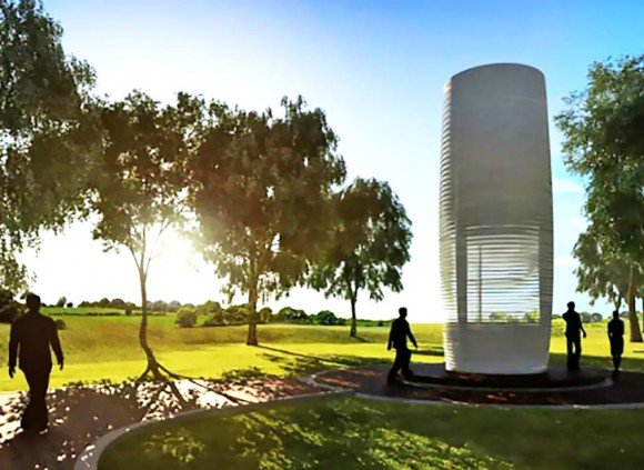 Post image for Smog Free Tower – Cleaning Up The Air You Breathe
