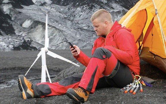 Post image for No Charge? No Problem! Trinity Personal Portable Wind Turbine