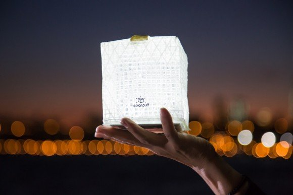 Post image for Solarpuff – Inflatable And Foldable Solar Lamp