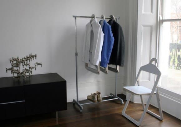 Post image for Hanger Chair – Seating And Storage All In One Unit