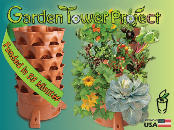 Post image for Urban Gardening With The Garden Tower 2