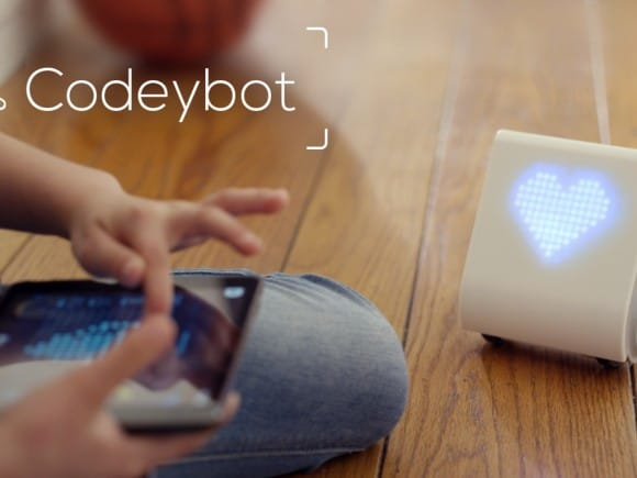 Post image for Codeybot – Small Robot Teaches You Coding Language