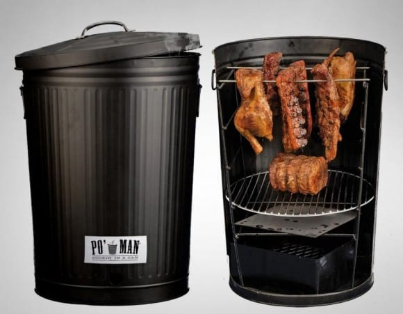 Post image for Po' Man Grill – Cooking In A Trashcan