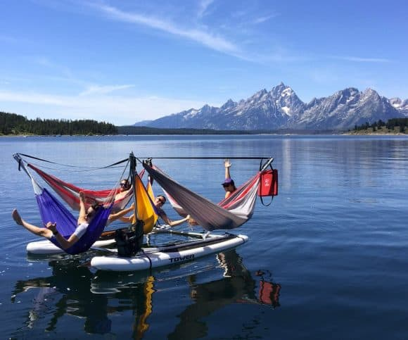Post image for Hammocraft – Hammock Boat With Four Hammocks