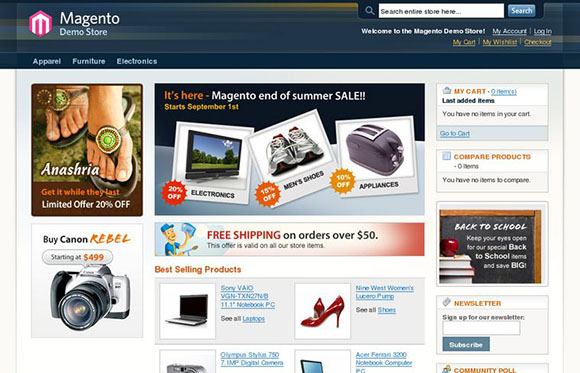 Post image for Tips for Designing an Amazing Magento eCommerce Website