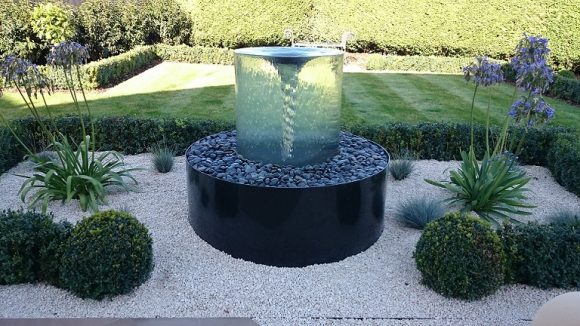 Volute Water Feature By Tills Innovations Company
