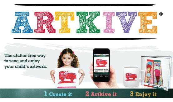 Post image for Archive Your Kids' Artwork With ARTKIVE