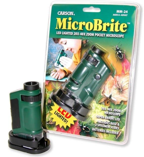Post image for Carson MicroBrite Lighted Pocket Microscope