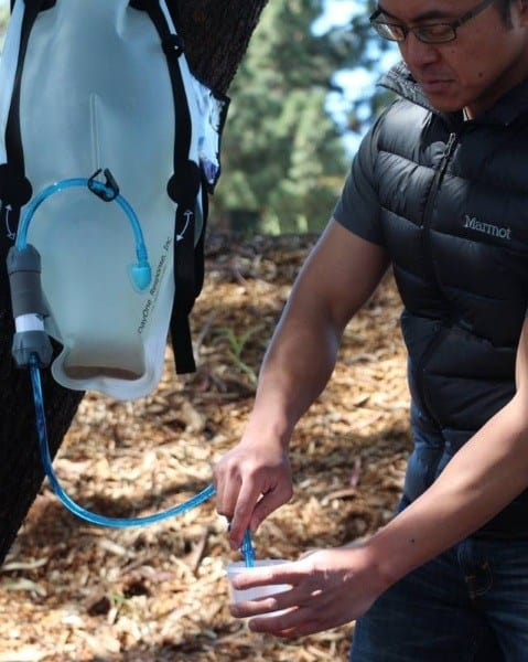 Post image for The DayOne Waterbag – Water Filter Backpack
