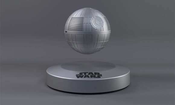 Post image for Death Star Speaker Floats Using the Dark Side of the Force