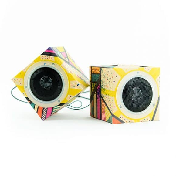 Post image for Design Out Loud! Cardboard Speakers