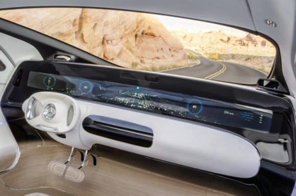 Post image for The Mercedes-Benz 'In Car Office' For Additional Efficiency