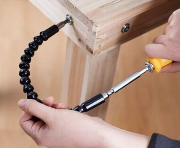 Post image for Flexible Screwdriver – The Screwdriver that Bends