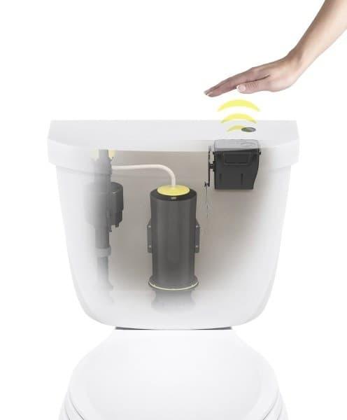 Post image for Touchless Toilet Flush Kit By Kohler