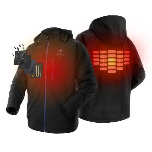 Post image for Stay warm with the Ororo Heated Hoodie