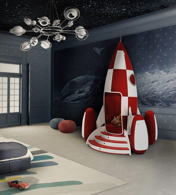 Post image for Rocky Rocket Armchair Will Launch Your kid's Imagination into Space